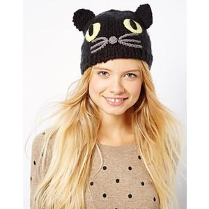 ASOS Cat Knit Beanie - €16